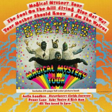 The Beatles - Magical Mystery Tour (LP, Mono) - (Vinyl)